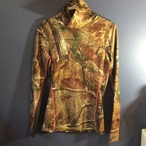 Under Armour Camouflage Turtle Neck Long Sleeve
